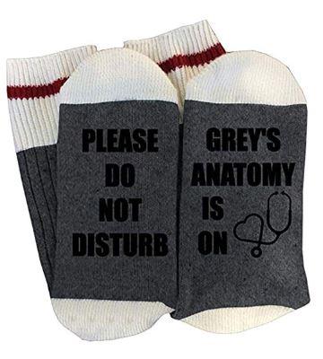 Please Do Not Disturb, Grey's Anatomy is On Socks