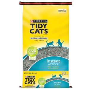 Purina Tidy Cats Non-Clumping Cat Litter 30lbs Only $6.20!