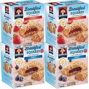 4 Boxes of Quaker Breakfast Squares 5-Count Packs as low as $9.44! Lowest Price!