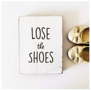 Remove Your Shoes Rustic Signs Only $12.99 Shipped!