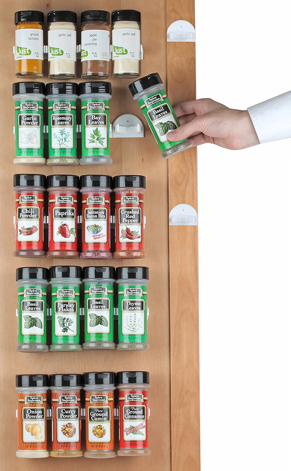 Spice Rack With 36 Gripper Clips Only 9 99 Become A