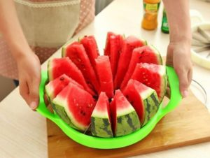 Stainless Steel Watermelon Slicer Only $10.56! Lowest Price!