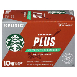 Meijer: Starbucks Plus Coffee K-cups 10ct Only $