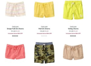 Crazy 8 Shorts as low as $3.79 Shipped!!
