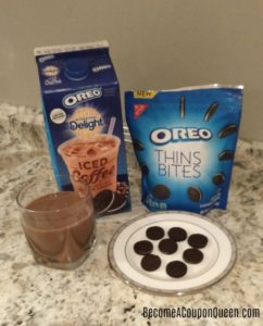 Save up to $2.00 on Nabisco OREO Thins Bites and International Delight OREO Iced Coffee at Walmart!