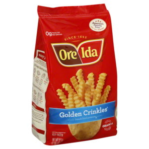 FREE Ore-Ida Frozen Fries at Walmart!