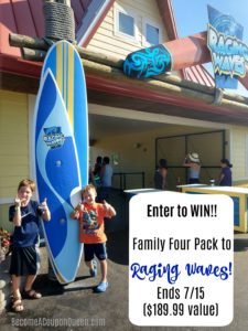Stay Cool and Have Fun at Raging Waves – Illinois' Largest Waterpark! {Giveaway!}