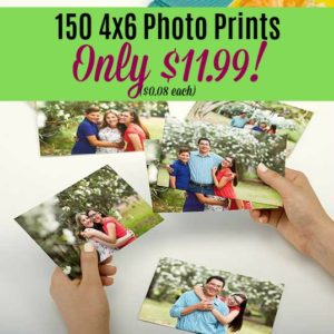Get 150 Photo Prints Only $11.99 at Walgreens! ($0.08 each)