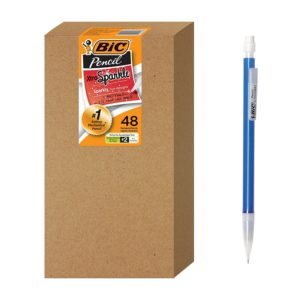 BIC Xtra Sparkle Mechanical Pencils, 48 count Only $8.00!