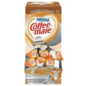 Box of 50 Coffee-Mate Vanilla Caramel Liquid Coffee Creamer Singles as low as $4.67!