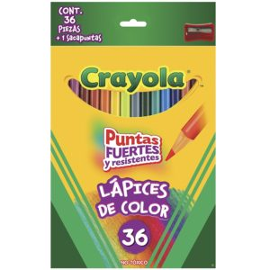 Long Pre-Sharpened Crayola Colored Pencils 36 Count Only $3.88 (Reg. $8)! Best Price!