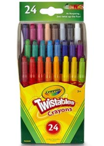 Crayola Twistables Mini Crayons 24-Count Only $3.99!