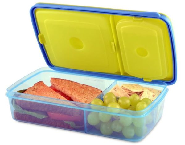 Fit & Fresh Kids' Reusable Divided Meal Carrier