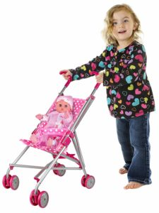 Foldable Doll Stroller Only $9.54!
