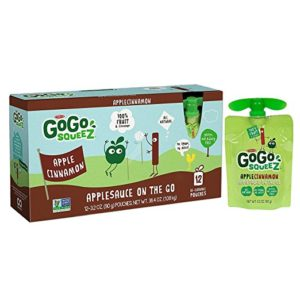 GoGo squeeZ Applesauce on the Go, 12 ct as low as $4.28 Shipped!