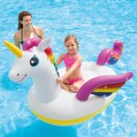 Intex Unicorn Inflatable Ride-On Pool Float Only $12.64!