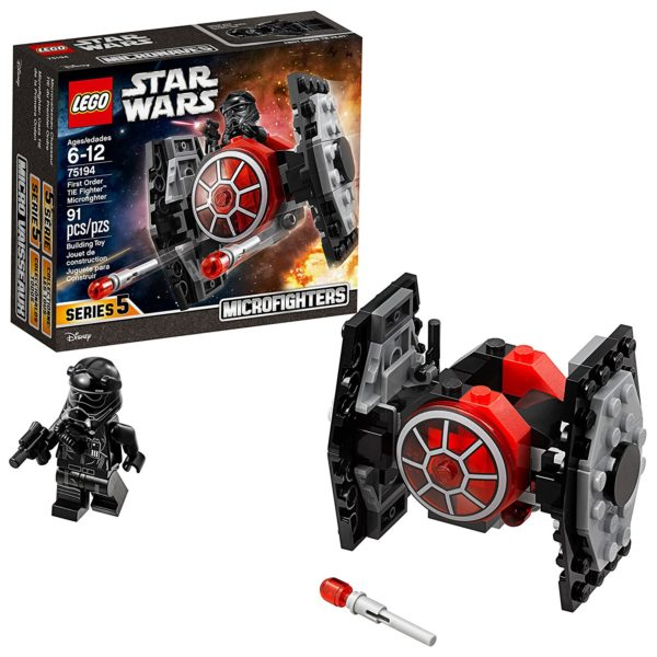 LEGO Star Wars: The Force Awakens First Order TIE Fighter Microfighter Building Kit