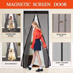 Magnetic Screen Door Only $11.49!