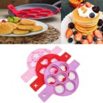 Set of 3 Fun Shaped Silicone Pancake Molds Only $9.99!