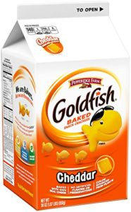 Pepperidge Farm Goldfish Crackers, Cheddar, 30 oz, 2-count as low as $6.58 Shipped!