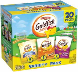 Pepperidge Farm Goldfish Sweet Savory Variety Pack 20-Count as low as $6.49!