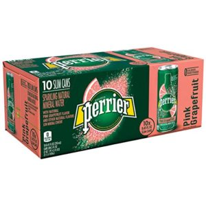 Perrier Pink Grapefruit Flavored Mineral Water 10 Count Only $4.52!