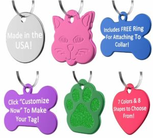 Personalized Pet ID Tag Only $0.99 + FREE Shipping!