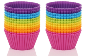 Set of 24 Silicone Cupcake Cups Only $7.19!