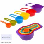 Set of 6 Stackable Measuring Cups and Spoons Only $6.99!