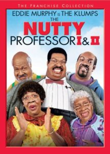 The Nutty Professor I & II DVDs Only $4.00!