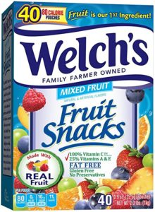 Welch's Mixed Fruit Snacks 40-Count Pack as low as $5.93 Shipped!