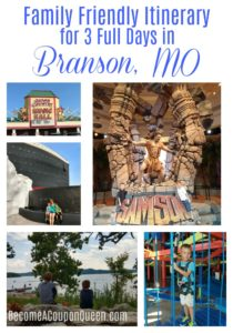 Family Friendly Itinerary for 3 Full Days in Branson, MO