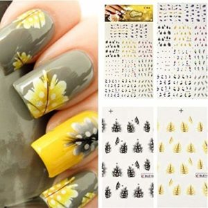 Gorgeous Peacock Feather Nail Decals Only $2.87 + FREE Shipping!
