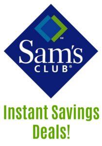Sam's Club Instant Savings Deals – August 22 – September 17