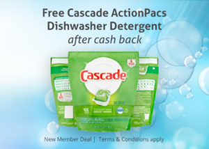 FREE Cascade ActionPacs at Walmart!