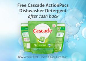 FREE Cascade ActionPacs at Walmart!