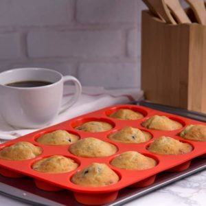 12 Cup Silicone Muffin Pan Only $8.49 (Reg. $19)!