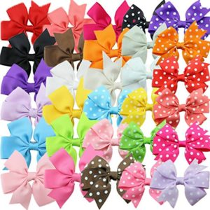 Set of 30 Grosgrain Hair Bows Only $7.99! Best Price!