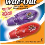 BIC Wite-Out Correction Tape, White, 2-Count Only $2.47!