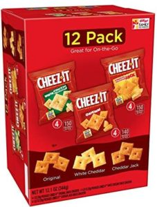 Cheez-It Baked Cheese Crackers 12-Count Variety Pack Only $3.99!