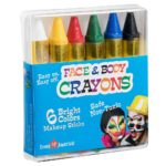 Face Paint Crayons 6 Color Pack Only $5.99!