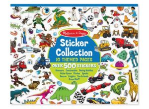 Melissa & Doug Sticker Dinosaurs, Vehicles, Space, and More Collection Book Only $4.99!