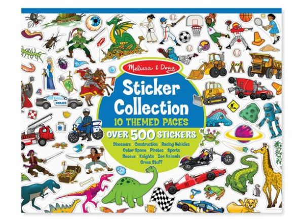 Melissa & Doug Sticker