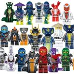 Set of 24 LEGO-Compatible Ninja Minifigures with Accessories Only $14.99 Shipped!
