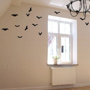 Pack of 28 Bat 3D Wall Decals Only $7.99!