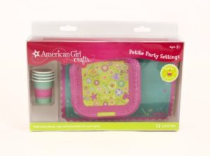 Plates, Cups and Placemats for 18″ Dolls Only $4.80!