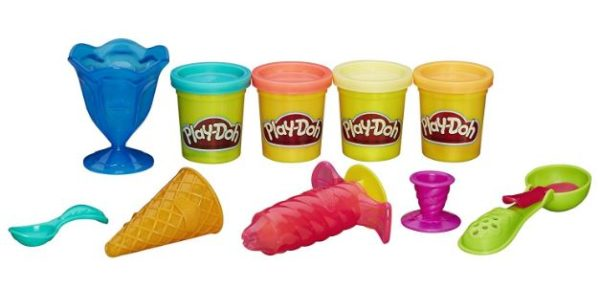 Play Doh Kitchen Creations Ice Cream Treats Set Only 6 99 Best