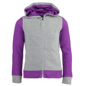 Reebok Girl's Mesh Back Jersey Jacket Only $13 Shipped! Was $29.99!