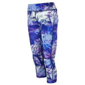 Reebok Women's Performance Printed Capri Leggings Only $12 Shipped!