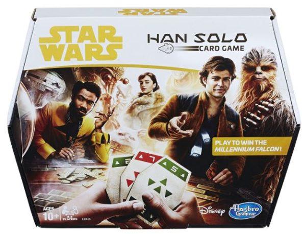 tar Wars Han Solo Card Game